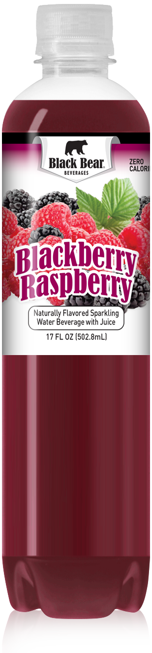 Black Bear Naturally Flavored Sparkling Water Beverage with Juice